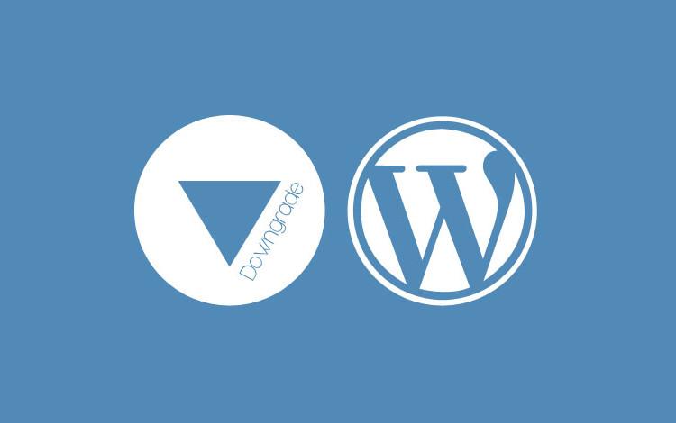 Как откатить WordPress до старой версии