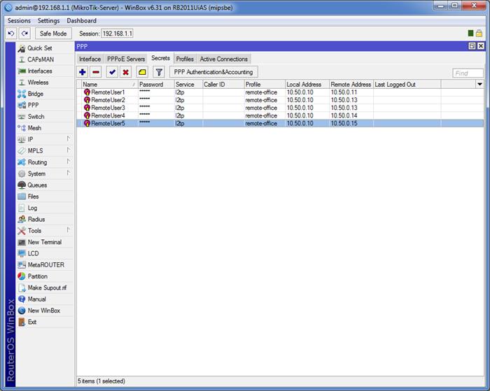 021417 0824 8 - Пошаговая инструкция по объединению сетей разных провайдеров с помощью L2TP и L2TP/IPSec на оборудовании Mikrotik