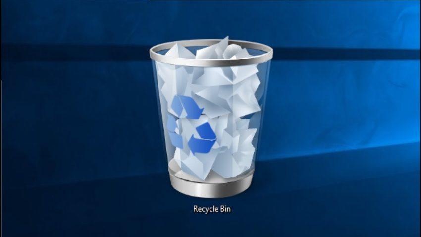 Как очистить корзину сразу у всех пользователей Windows