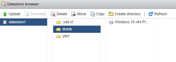 выбор iso файл